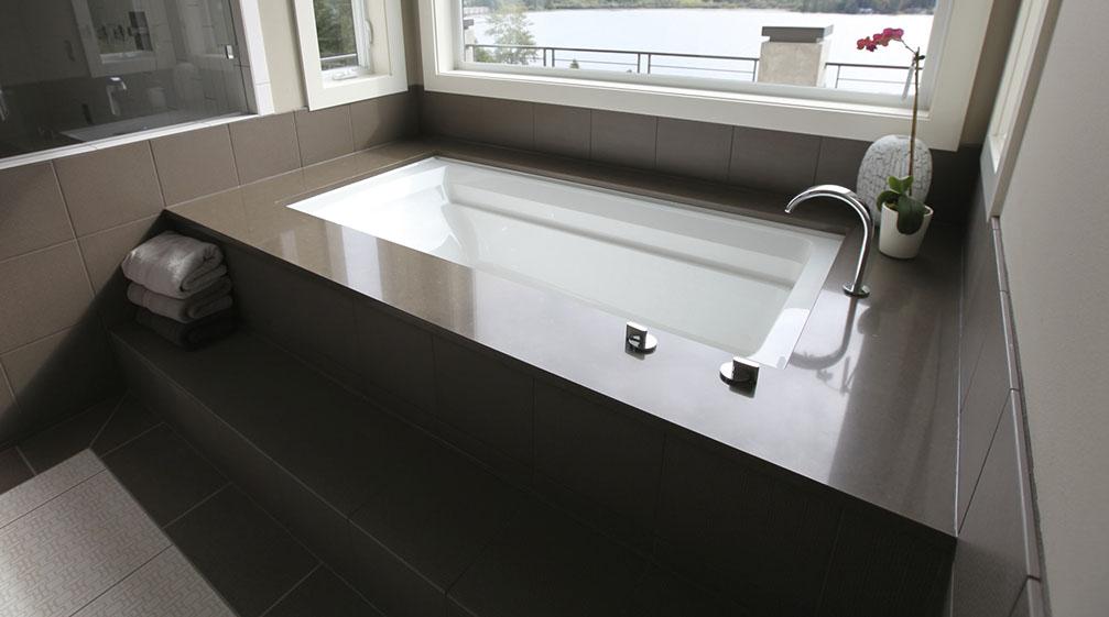 caesarstone master bath